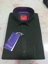 Plain Full Sleeves Milonch denim shirt, Size: M TO XXL