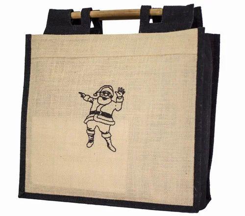 ed3abec11b64 Bamboo Handle Jute Bag at Rs 75 /bag | Jute Bags | ID: 14463192248