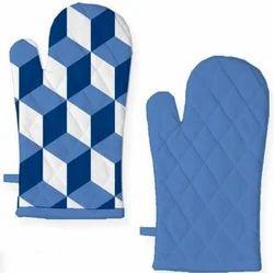 Airwill Blue Printed Glove