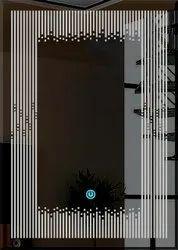 Led Sensor Mirror Square Shape