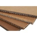 Brown Plain Corrugated Paper Board
