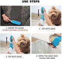 Inditradition Pet Fur, Hair & Lint Remover With Self Cleaning Base - Pet Fur Cleaner