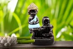 backflow incense burner with Lord Buddha