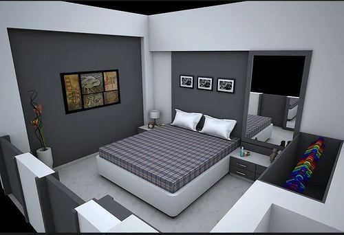Master Bedroom Interior Design Service in Shukrawar Peth Pune KT