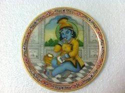 Miniature Painting On Plate