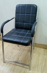 Chrome nichkle Visitor Chairs