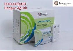 Plastic Dengue Combo Ag Ab Immuno Quick