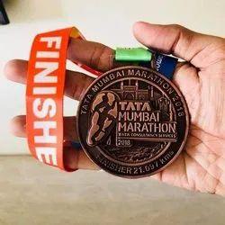 Copper Marathon Medals