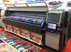 Konica Digital fabric Printing Machine, Capacity: 50-100mm/Min