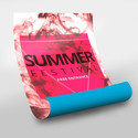 Offset Printed Poster