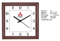 Customized Square Wall Clock 6 Inch