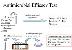 Antimicrobial Efficacy Test