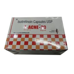 I Acne 20 Capsules, For To Treat Severe Cystic Acne, Packaging Type: Strip