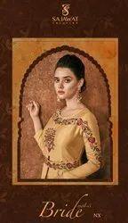 Sajawat Creation Soft Silk Bridal Wear