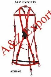 Red Indithane PVC Horse Bridle