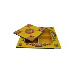 Decorative Wooden Dry Fruit Box