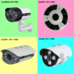 OUTDOOR  IP CCTV CAMERA - IP - POE -  5 MP