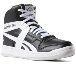 Black And White Throwback Style Reebok Mens Classics BB 5600 Archive Shoes e2d0dd7d4
