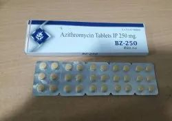 BZ-250 Azithromycin 250mg Tablets IP