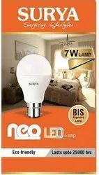 Round Surya 7w LED Bulb