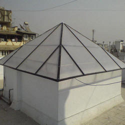 Polycarbonate Pyramid Polycarbonate Dome Latest Price