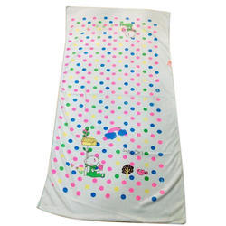 Dot Printed Bath Towel