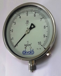 Industrial Gauge with External Zero Adjustment
