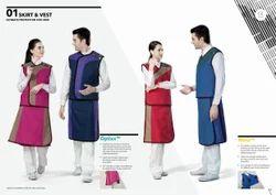 Uniray Lead Apron Skirt Vest Front 0.5mm & Back 0.25mm