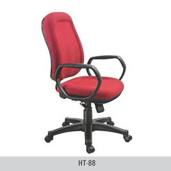 Medium Back Red Executive Chair
