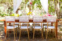 Wooden Gold Wedding Chiavari Chair