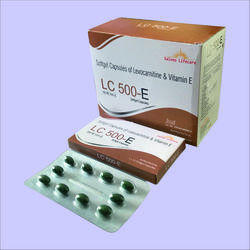 Levocarnitine With Vitamin E Softgel Capsules