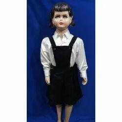 Poly Cotton Plain Kids Gallies Skirt Costume Dress, Size: Extra Large