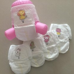Cotton Disposable Baby Diaper, Size: Medium, Packaging Size: 5 Piece Per Box