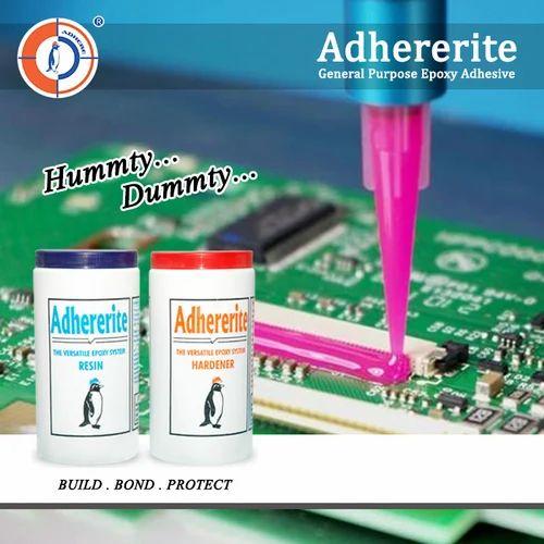 Adhererite Liquid General Purpose Epoxy Adhesive, Packaging Size: 1.8 Kg