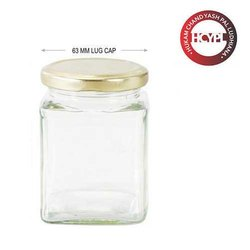 280 ml Sqaure Glass Jar