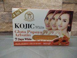 Kojic White Papaya Arbutin Skin Whitening Soap