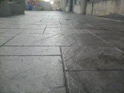 Stamp Concrete Flooring Service, Pan India