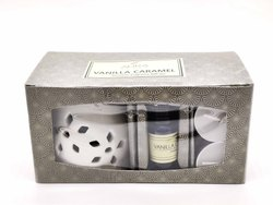 AuraDecor Aroma Gift Set With Diffuser & 2  Tealight & Aroma Oil 10ml