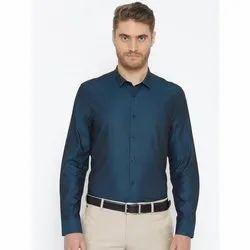 Cotton Mens Plain Party Wear Formal Shirts