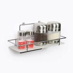 Home Care Stainless Steel Euro Series Single Shelf