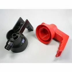 Red, Black Plastic Moulded Components