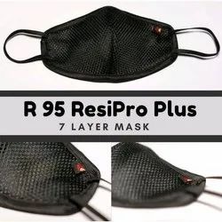 Hygieworld R95 Reusable Protection Face Mask, Certification: ISO, Number Of Layers: 7