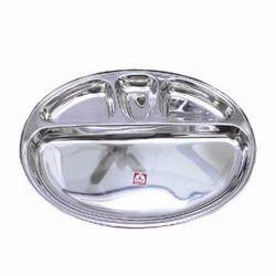 Oval 4 Comp Plate