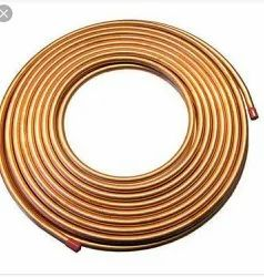 Coil Pan India Copper Tube, For Air Condition, Thickness: 0.5mm To 2mm