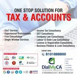 Online Tax Consultancy Services, In Pan India