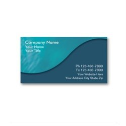 Paper Digital and Offset CORPORATE VISITING CARD
