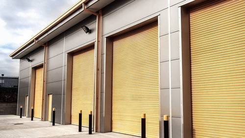 Metal Automatic Roller Shutter