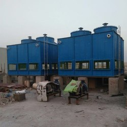 Jyoti Three Phase FRP Induced Draft Cooling Tower, 380 V, Capacity (Litre/sec): 100-500 Lpm