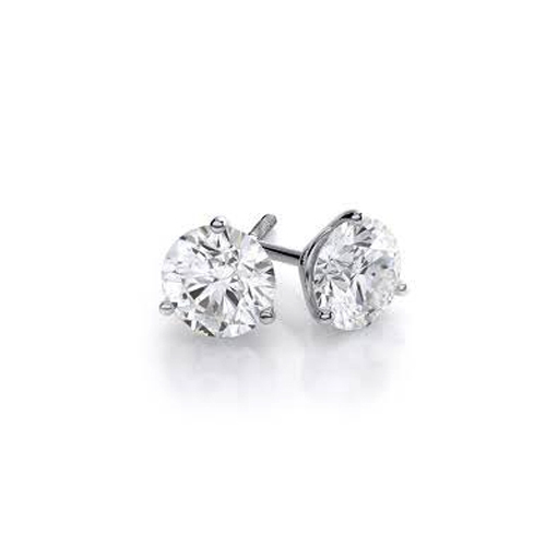 Moissanite Diamond Stud Earring