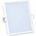 Square White 18 W Led Down Light, Model: Nt-dl-18s